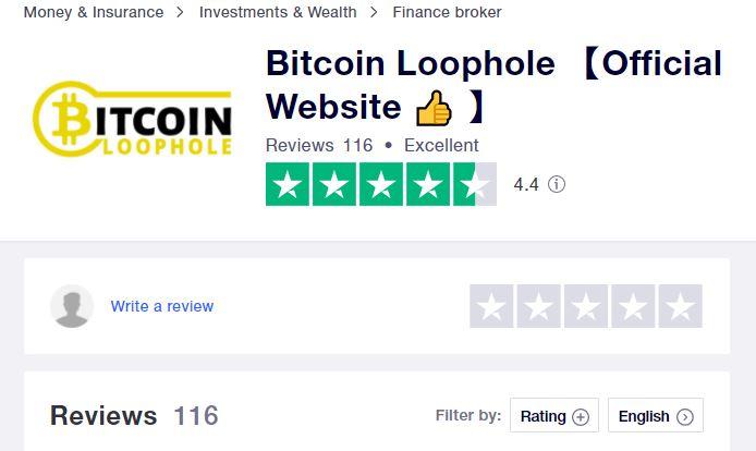 Bitcoin Loophole Trustpilot